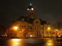 Auglaize County Court House (Night)