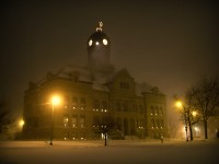Court House Snow Storm