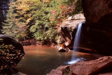 Lower Falls - Old Man's Cave